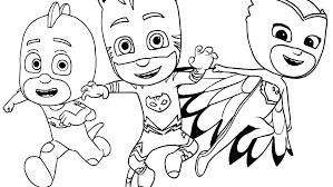 Pj Masks Gecko Coloring Pages Copy Catboy From Pj Masks Coloring