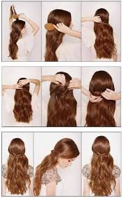 Coiffure Cheveux Long Rapide Simple Blog Okeh