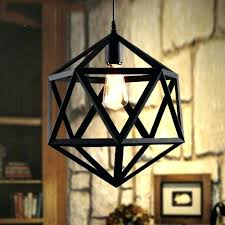 industrial cage work light chandelier industrial vintage ironwork ceiling pendant loft metal cage all s contemporary chandeliers on