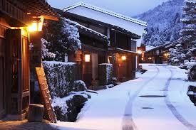 Wallpaper Japan Street Snow Winter 1600x1067 Lodbrok