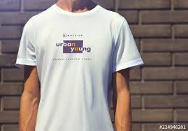 T Shirt Template Mesmerizing 44 TShirt Mockups Buy This Stock Template And Explore Similar