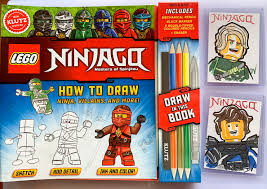 How To Draw LEGO NINJAGO book signed with choice of Sketch on Trading Card  — The Art of Dan Veesenmeyer