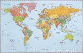 world maps for kids and children of all ages