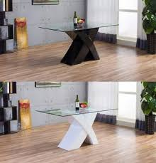 image is loading milanoxmodernhighglosswhiteblackglass high gloss wood furniture n45 gloss