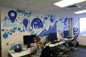 designs ideas wall design office. Full Size Of Home Office:graffiti Clad Workspaces Spaces Office And Designs Creative Interior Design Ideas Wall C