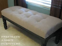 Bench Out Of Headboard Ana White Tufted Upholstered Benches Diy Projects