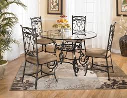 glass dining table decor ideas table and estate decoration in round glass dining table decor