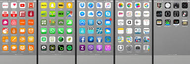 Arranging your iPhone apps by color could help you find a particular app  faster - image