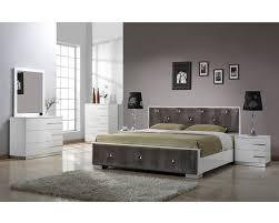 Luxury Modern Bedroom Furniture Stylish Black Contemporary Bedroom Sets For White Or Gray Bedrooms