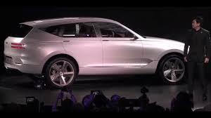 2018 genesis suv gv80. brilliant 2018 2018 genesis gv80 concept teaser review  interior  exterior luxury suv and genesis suv gv80 y