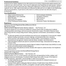Nurse Manager Resume Objective Example Examples Case Templates