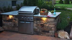 built in grill outdoor grill island