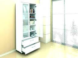 bookcase with glass doors ikea bookshelf bookshelves door white billy instructions