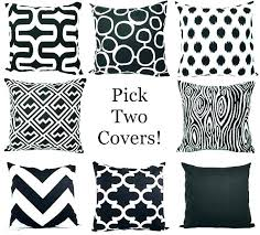 striped pillow covers black and white pillow black and white pillow black and white outdoor pillow striped pillow covers