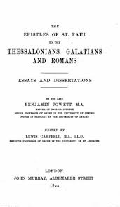 the epistles of st paul to the thessalonians galatians and  0055 02 tp