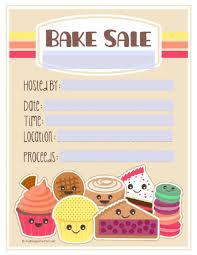 bake sale flyer templates bake sale poster templates free vatozatozdevelopmentco bake sale