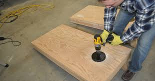 Wooden Corn Hole Game How to build a Cornhole Toss Game Set Cornhole Board Plans 70