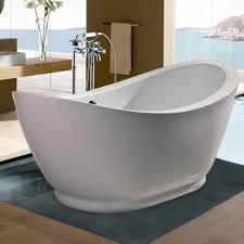 48 inch freestanding tub. uncategorized, deep bathtubs 48 inch bathtub inspiring natural modern bathroom interior with popular oval freestanding tub l