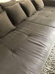Couch Wohnlandschaft Grau