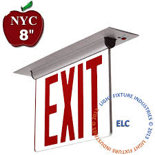 Decorative Exit Sign