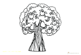 Apple Printable Coloring Pages Apple Coloring Page Apple Tree