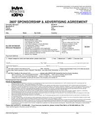 46 Awesome Sample Advertising Contract Agreement | Agreement Form