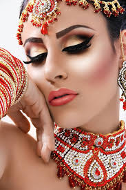 asian wedding inspiration from asian bride makeup 9
