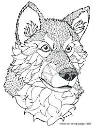 Wolf To Color Coloring Pages Wolves Excellent Coloring Pages Of
