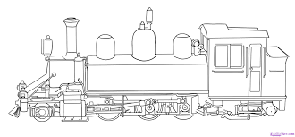The machinist in a steam locomotive. Free Printable Train Coloring Pages For Kids