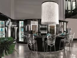 deco home furniture. Art Deco Kitchen Furniture Combined With Luxury Artistic Stainless Mini Bar Chairs And A Unique White Pendant Lamp Elegant Black Table Home E
