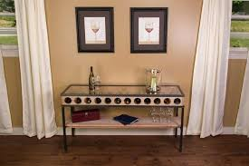wine rack console table. Console Table With Wine Rack The Advantages Of Inspire Furniture Ideas Image Cream Oak S