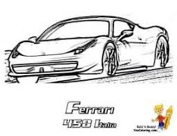 Ferrari 458 Colouring Pages Coloring Kids Coloring Pages Color