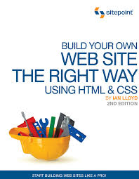 Sitepoint Web Design Business Kit Build Your Own Website The Right Way Using Html Css 2nd