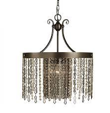 4 light brushed nickel penelope dining chandelier
