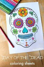 Shutterstock editor mobile apps plugins image resizer file converter collage maker color schemes. Day Of The Dead Skull Coloring Sheets For Children Nurturestore