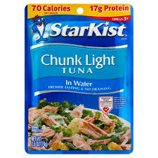 starkist chunk light tuna in water 2 60 oz sku 080000495242