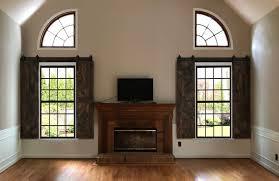 san antonio barn door shutters on window