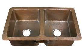 hammered copper kitchen sink: hand hammered copper drop in kitchen sinks