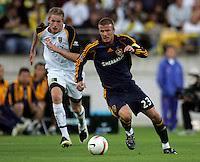 Football - Wellington Phoenix v LA Galaxy, 1 December 2007   Dave Lintott  Photography