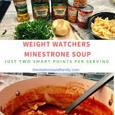 weight watchers minestrone soup recipe