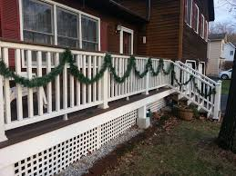 picture of easy diy porch rail decoration hangers