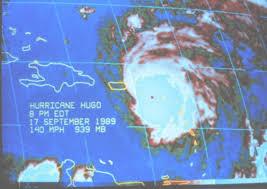 Hurricane Hugo 1989