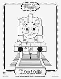 Thomas The Tank Engine Coloring Page