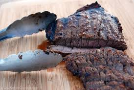 Asian marinated london broil