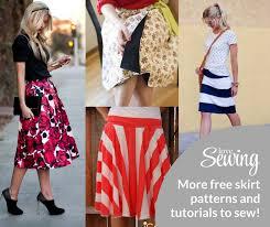 Free Skirt Patterns Interesting More Free Skirt Patterns To Sew