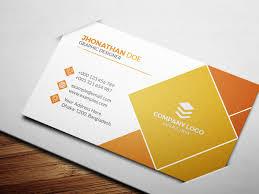 Unique Graphic Design Corporate Unique Business Card Design On Student Show