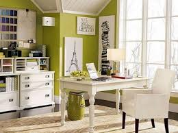 vibrant green home office charming office wall color ideas