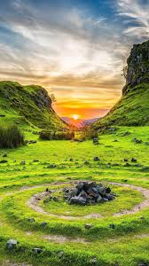 Fairy Glen Isle of Skye Scotland 4K ...