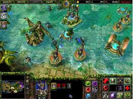 free download game warcraft iii the frozen throne map dota for