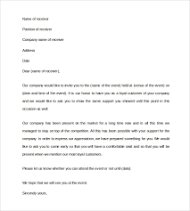 Sample Of Business Invitation Letter Pdf - Erpjewels.com